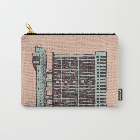 Brutalist Architecture Trellick Tower  Carry-All Pouch