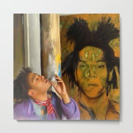 Samo Basquiat Metal Print