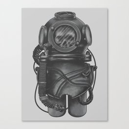 The Dead Diver Canvas Print