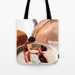 Light Lunch. Tote Bag