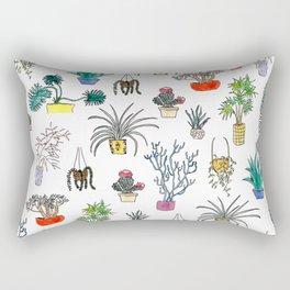 Houseplants Rectangular Pillow