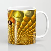 fractal Mugs featuring Fractal by Digital-Art