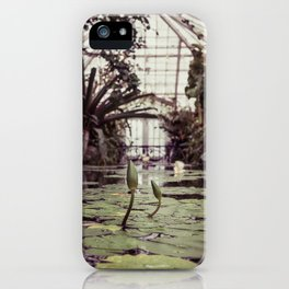 Lillypads with blooms iPhone Case