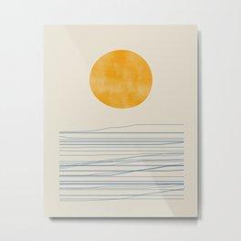 Sunset Boho Art 2010 Metal Print