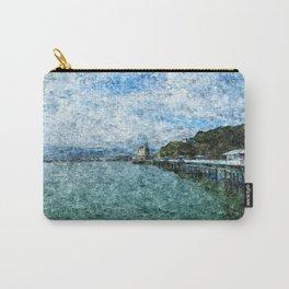 Llandudno Pier in Summer Carry-All Pouch