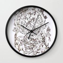 Erratica the Refugee Wall Clock