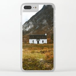 Glencoe Scotland Clear iPhone Case