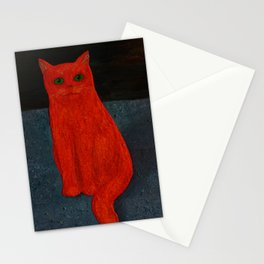 Cat Fries Supplies Stationery Cards