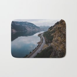 Columbia River Gorge III Bath Mat