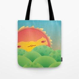 Sunlit Hills Tote Bag