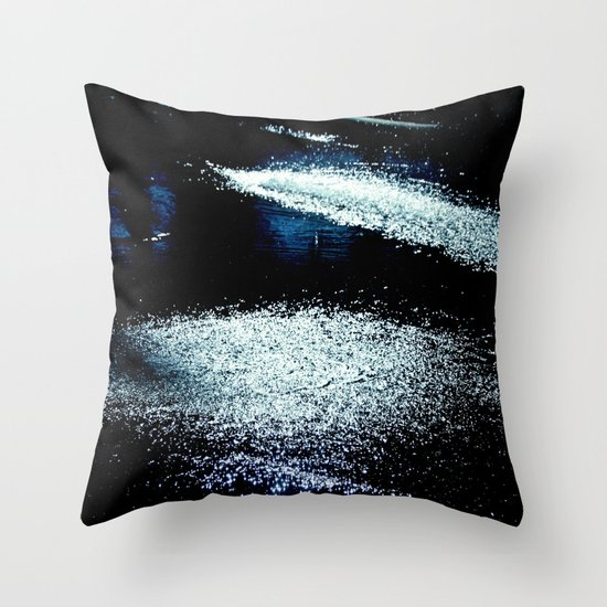 sparks of mystery Throw Pillow