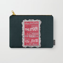 Lab no. 4 storm will change you life Carry-All Pouch