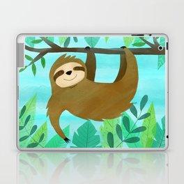 Cute Sloth Laptop & iPad Skin