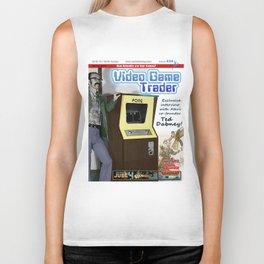 Video Game Trader #20 Cover Design  Biker Tank