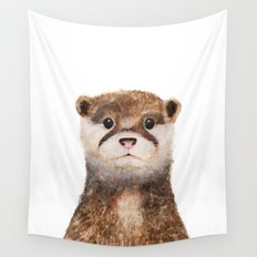 Little Otter Wall Tapestry