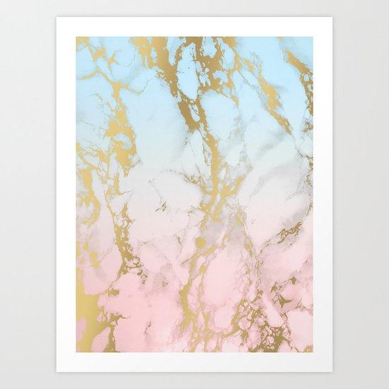 Marble Dream Art Print