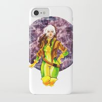 rogue iPhone & iPod Cases featuring Rogue by Doodleholic