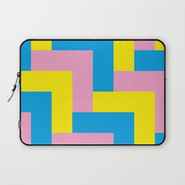 An easy one. Arrow heads...Graphical arrow heads in children colors. Laptop Sleeve