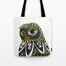Kaleidoscope Owl Tote Bag