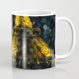 Night Lights in Paris: La Tour Eiffel Coffee Mug