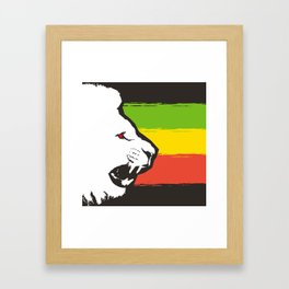 Rasta Lions (The Kingdom) Framed Art Print