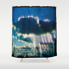 His Mind is Dark and Full of Errors 98 Shower Curtain