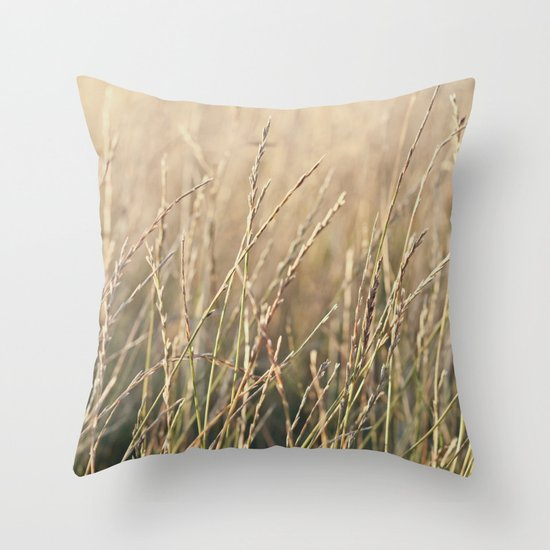 Field in the Sun Throw Pillow