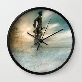 Dreams about sea Wall Clock