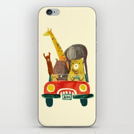 Visit the zoo iPhone Skin