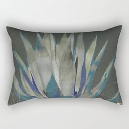 GRUBBY GREY ANTIQUE AGAVE CACTUS PIC Rectangular Pillow