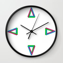 Impossible Isosceles Wall Clock