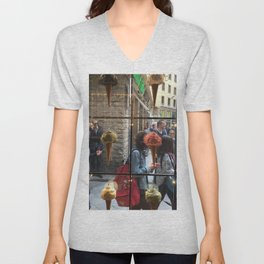 Ice Cream Obsessions , Florence, Italy Unisex V-Neck