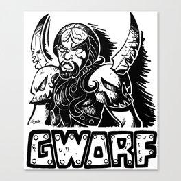 Gworf Canvas Print