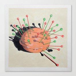 pincushion n. 1 Canvas Print