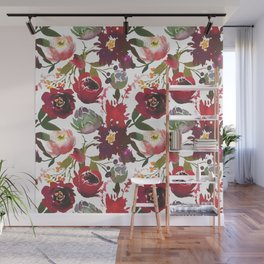 Boho Rojo Wall Mural