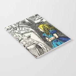 Blonde Girl Called Alice Notebook