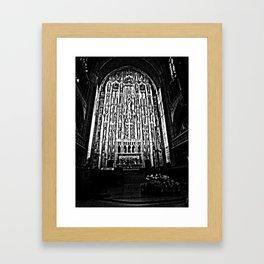 Altar I Framed Art Print
