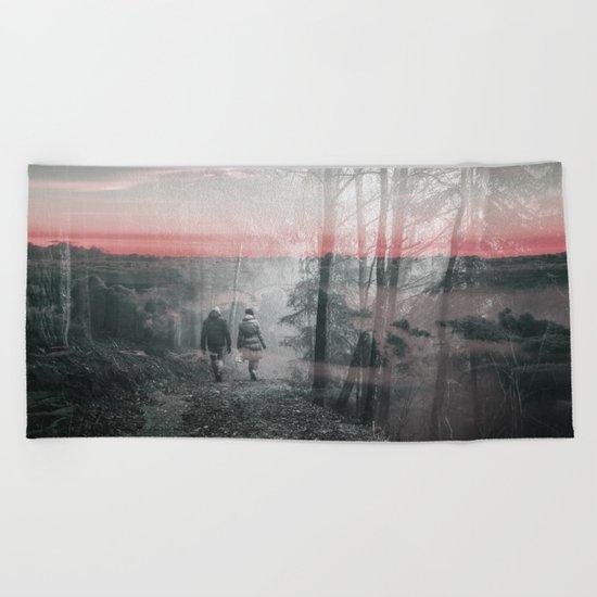 Unknown Fate Beach Towel