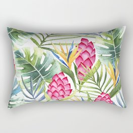 Tropical Leaves 9 Rectangular Pillow
