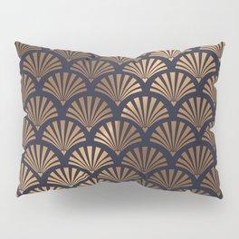 Art Deco Shell Pattern Pillow Sham