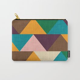 Kilim Chevron Carry-All Pouch