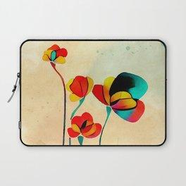 Exotic Watercolor Flower Laptop Sleeve