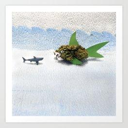 High-O-Rama Series: Shark Off Art Print