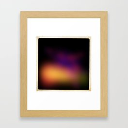 Abstract #01 (Flash Series) Framed Art Print
