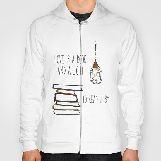 Love Is A Book Hoody