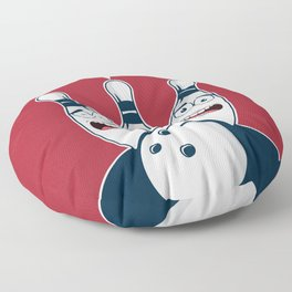 Spare Me Bowling Funny Strike Pin Hobby Gift Floor Pillow