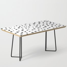 Dalmatian dots black Coffee Table