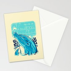 Aquatic problem Stationery Cards