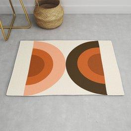 Dig It - minimalist 70s style retro vibes throwback poster minimal art decor Rug