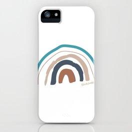Hello i'm a rainbow iPhone Case